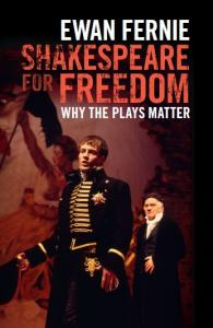<i>Shakespeare for Freedom</i> book cover