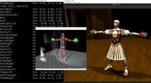 """Figure 6. Screenshots from Mekanimator, the platform developed by the UC Davis ModLab to run """"Play the Knave."""" Screenshots taken by Nicholas Toothman. Design arrangement by Elle Luo."""